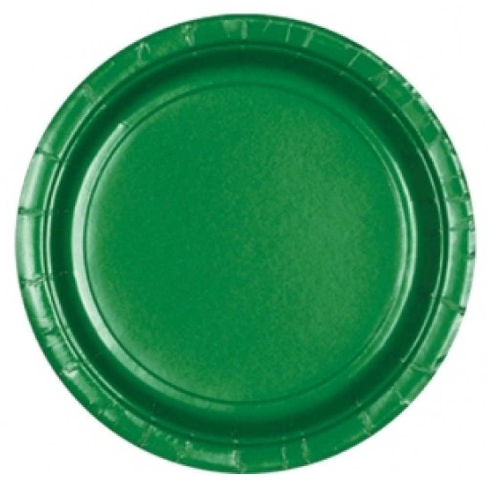 sc 1 st  PartyCenter & Festive Green Paper Plate 18 cm Amscan 54015-03 Pack of 8 pieces