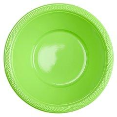 Boluri plastic Kiwi Green 355ml pentru petreceri, Amscan 552286-53, Set 10 buc