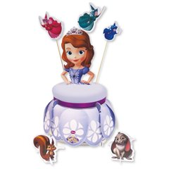 Disney Sofia the First Cake Stand & Kit, Amscan 997167, 1 piece