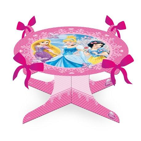Suport tort cu Printese Disney pentru petreceri copii, 25 x 13cm, Amscan 996484, 1 buc