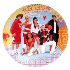 Farfurii petrecere copii 23 cm High School Musical, Amscan 551381, Set 8 buc
