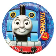 Thomas & Friends Paper Plates 23 cm, Amscan RM552156, Pack of 8 Pieces