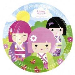 Farfurii petrecere copii 23 cm Kimmi Junior, Amscan 552203, Set 8 buc