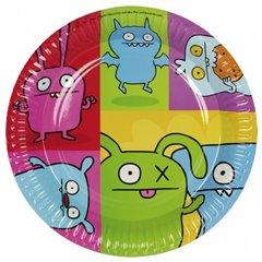 Farfurii petrecere copii 18 cm Ugly Dolls, Amscan 552443, Set 8 buc