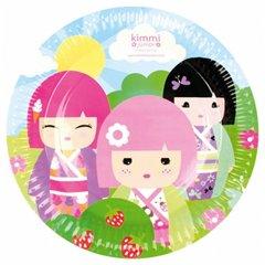 Farfurii petrecere copii 18 cm Kimmi Junior, Amscan 552232, Set 8 buc