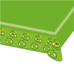 Fata de masa din plastic pentru petrecere copii - Angry Birds, 180 x 120 cm, Amscan RM552364, 1 buc