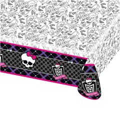 Monster High Plastic Table Cover, 180 x 120 cm, Amscan RM552249, 1 piece