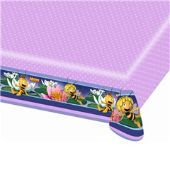 Bee Maya Plastic Table Cover, 180 x 120 cm, Amscan RM552354, 1 piece