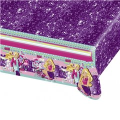 Barbie Fashion Plastic Table Cover, 180 x 120 cm, Amscan RM552397, 1 piece