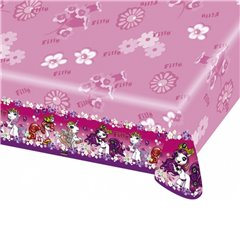 Filly Fairy Plastic Table Cover, 180 x 120 cm, Amscan RM552478, 1 piece