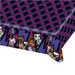 Fata de masa din plastic pentru petrecere copii - Monster High, 180 x 120 cm, Amscan 552515, 1 buc
