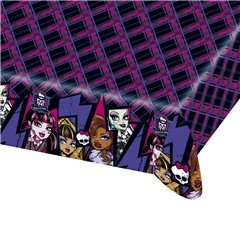 Monster High Plastic Table Cover, 180 x 120 cm, Amscan RM552515, 1 piece