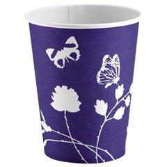 Pahare carton pentru petrecere copii, culoare violet, 250ml, Amscan 551903, Set 8 buc