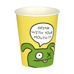 Ugly Dolls Paper Party Cups, 250 ml, Amscan RM552444, Pack of 8 pieces