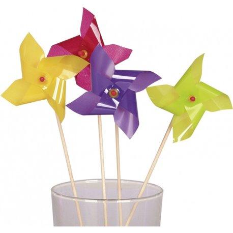 Scobitori decorative pentru briose cu morisca, Amscan RM552124, Set 10 buc