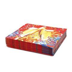 Servetele de masa pentru petreceri aniversare, 33 cm, Amscan 551428, Set 20 buc