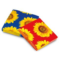 Sunflower Luncheon Napkins, 33 cm, Amscan 551420, Pack of 20 pieces