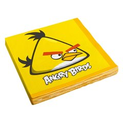 Angry Birds Luncheon Napkins, 33 x 33 cm, Amscan 552363, Pack of 16 pieces