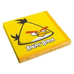 Servetele pentru petrecere copii - Angry Birds, 33 x 33 cm, Amscan 552363, Set 16 buc