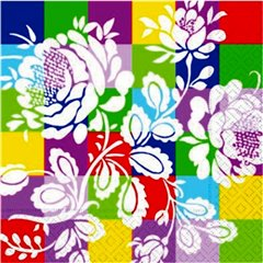 Crazy Luncheon Napkins, 33 cm, Amscan 551840, Pack of 20 pieces