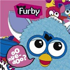 Servetele de masa pentru petrecere copii - Furby, 33 cm, Amscan 552458, Set 20 buc