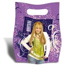 Hannah Montana Party Treat Bags - Party Supplies, Amscan RM551437, Pack of 6 pieces