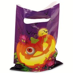 Pungute pentru cadouri copii la petreceri - Halloween, Amscan 550392, Set 6 buc