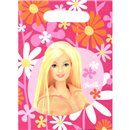 Barbie Party Treat Bags - Party Supplies, Amscan RM550370, Pack of 6 pieces