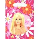 Pungute pentru cadouri copii la petreceri - Barbie, Amscan RM550370, Set 6 buc