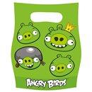 Pungute pentru cadouri copii la petreceri - Angry Birds, Amscan RM552366, Set 6 buc