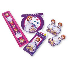 Set rechizite Sofia the First, Amscan 997170, Set 20 buc
