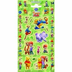 Stickere decorative pentru copii - Tigger & Pooh, Radar 1098930, Set 10 piese
