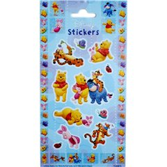 Winnie the Pooh Stickers, Radar 0874, Pack of 11 pieces
