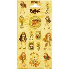 Stickere decorative pentru copii - Bratz, Radar 100322, Set 14 piese