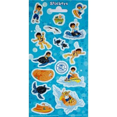 Stickere decorative pentru copii - Diego, Radar 100316, Set 15 piese