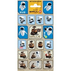 Wall-E Stickers, Radar 1290, Pack of 19 pieces
