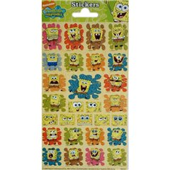 SpongeBob Stickers, Radar 100332, Pack of 28 pieces