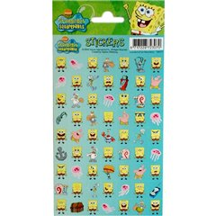 SpongeBob Stickers, Radar 100177, Pack of 63 pieces