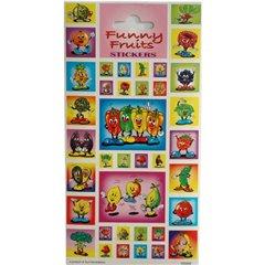 Stickere decorative pentru copii - Funny Fruits, Radar 100268, Set 38 piese