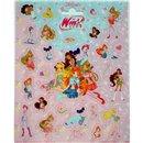 Stickere decorative pentru copii - Winx Club, Radar 110049, Set 26 piese
