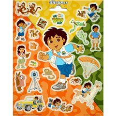 Diego Stickers, Radar 110037, Pack of 20 pieces