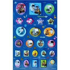 Stickere decorative 3D pentru copii - Wall-E, Radar 51156, Set 24 piese