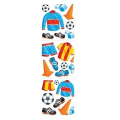 Football Stickers, Amscan 15666, Pack of 24 pieces
