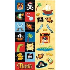 Stickere decorative pentru copii - Pirate Party, Amscan 159908, Set 2 buc