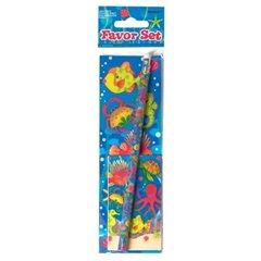 Set creion si stickere cu pestisori, Amscan 279780, 1 buc
