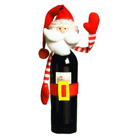 Imbracaminte sticla vin/sampanie pentru Craciun, Amscan 446041