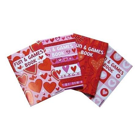 Carnetele cu inimioare, Amscan 392566, Set 48 buc