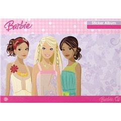 Album Stickere Barbie, Radar SD126005, 1 buc