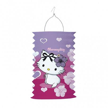 Felinar din hartie Charmmy Kitty, Amscan RM150494, 1 buc
