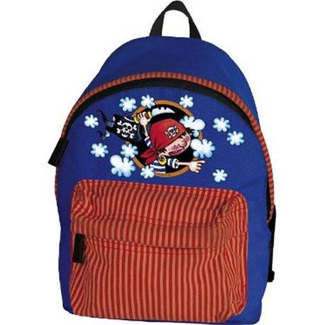 Rucsac albastru cu Pirati pentru baietei, Amscan 551770, 1 buc